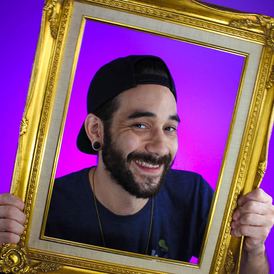 Chris Perez at The Paint Sesh