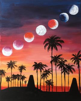 Venice Beach Eclipse