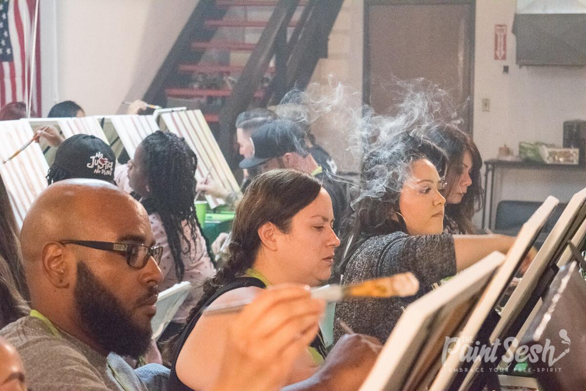 Cannabis friendly art class