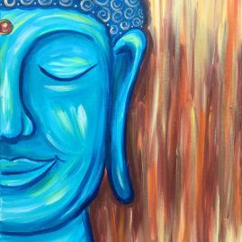 Happy Buddha Painting