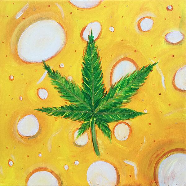 Slab Life Acrylic Painting