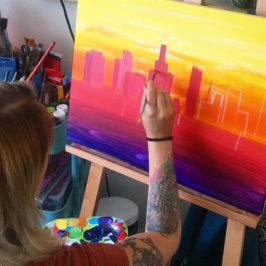 Setting up a creative environment – Chelz's creative process