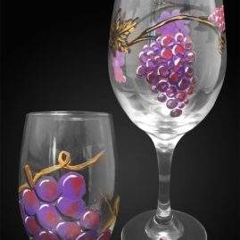 Grapevine – Wine Glasses