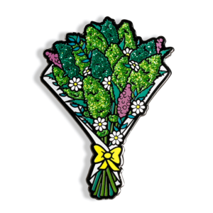 Cannabis Bouquet Enamel Pin