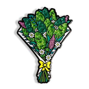 Cannabis Bouquet Enamel Pin