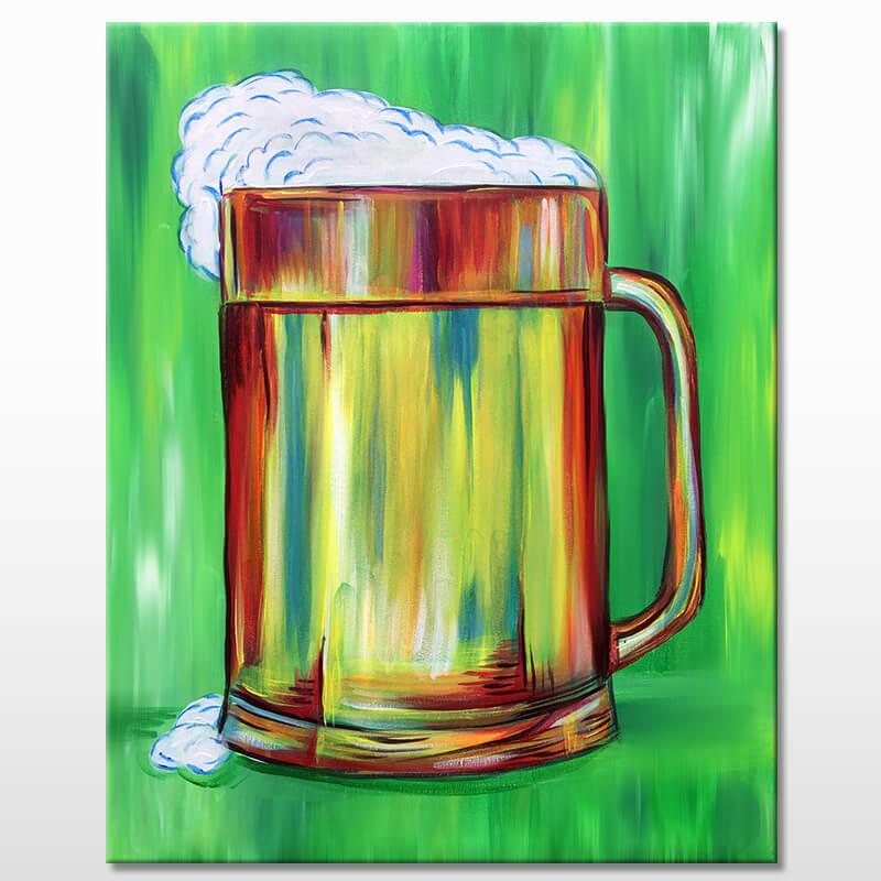 Beer Break Virtual Painting Class