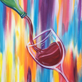 Wine Time Painting Party