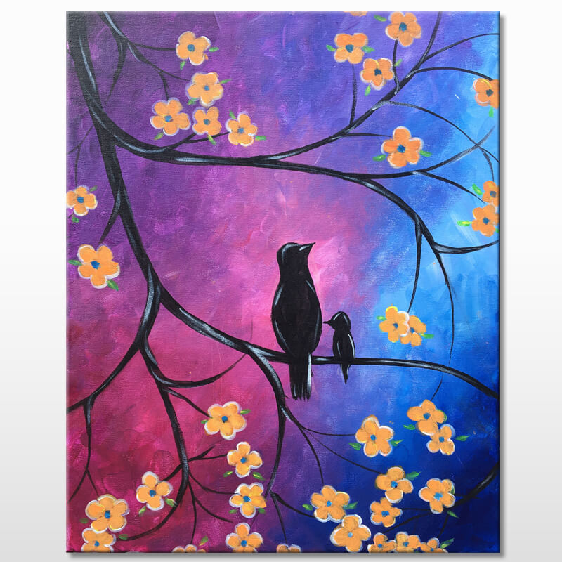 Birds Of A Feather Mothers Day Panting Party