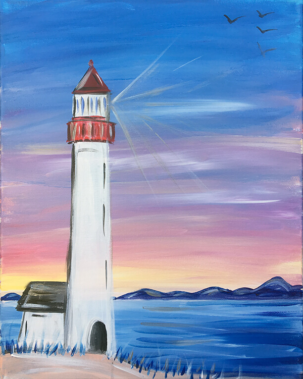 Lighthouse Cove Painting Party