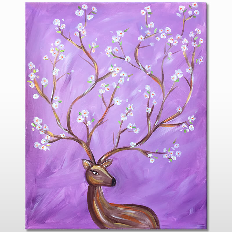 Oh Deer Painting Event