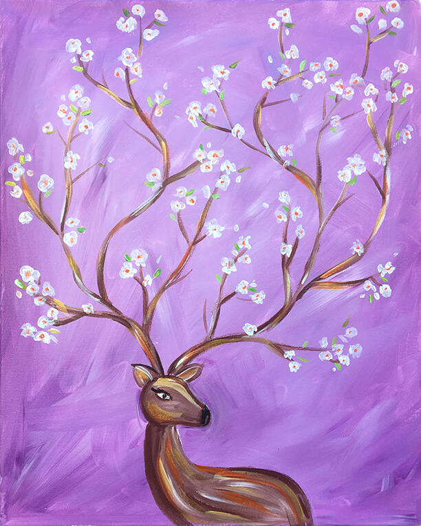 Oh Deer Painting Party