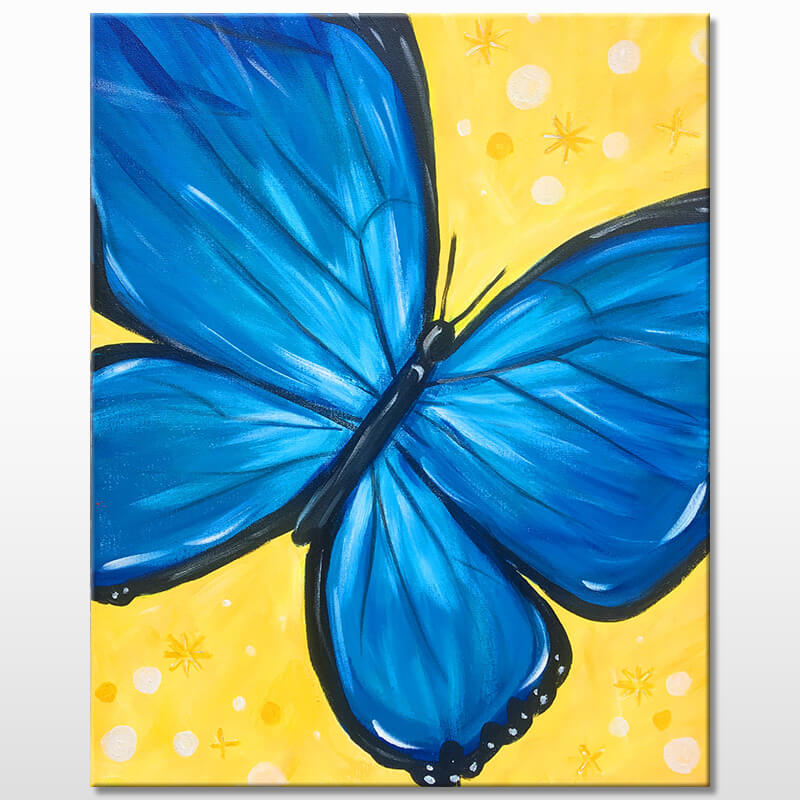 Free Spirit Butterfly Painting Party