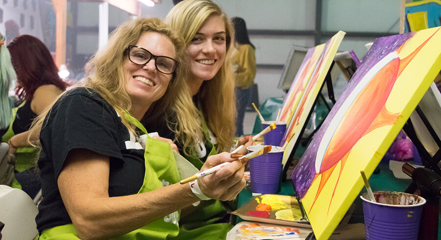 Paint and Sip Events in Southern California