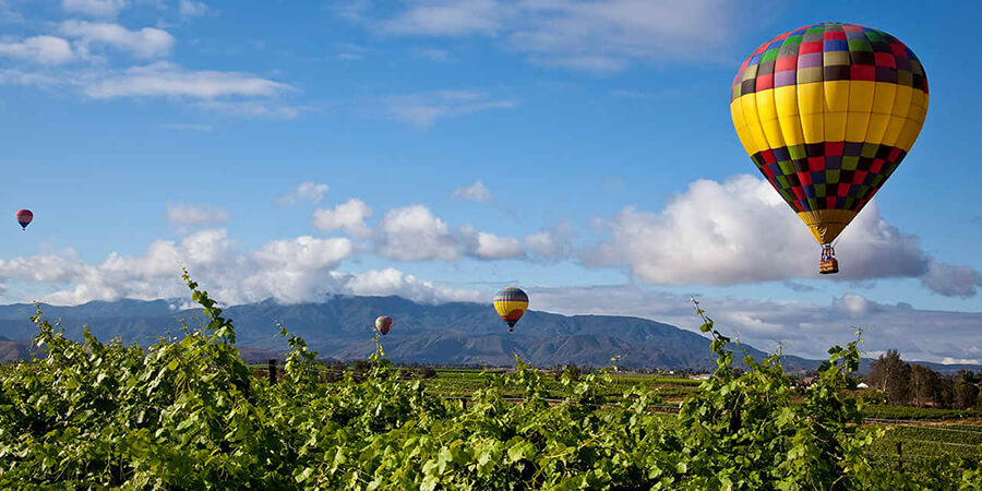 Visit Temecula Wine Country for Mothers Day