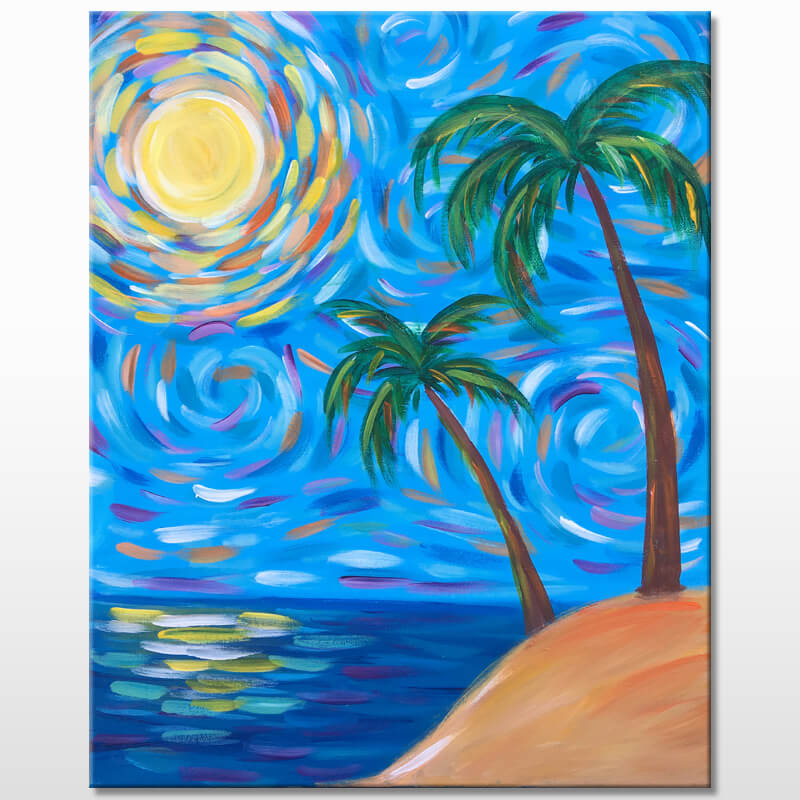 Sunny Daze Painting Event