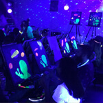 Blacklight Painting Party - Painting Party Upgrade