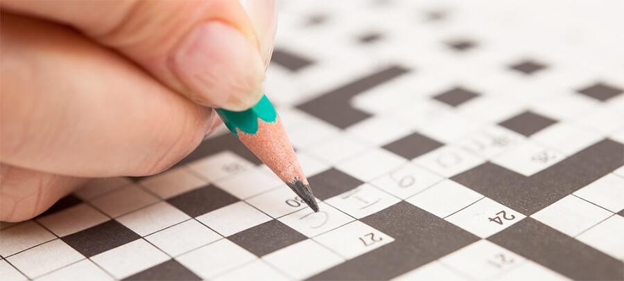 High Activity: Crossword Puzzle
