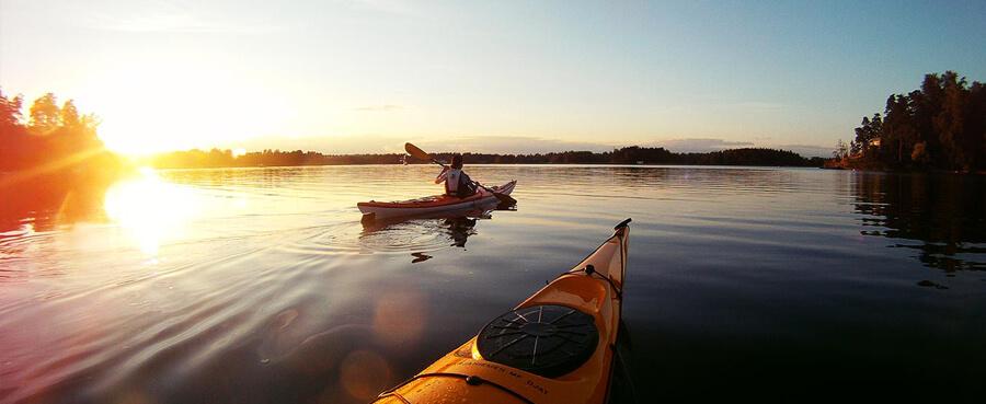 kayaking high adventure