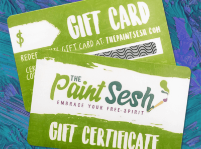 The Paint Sesh Gift Cards