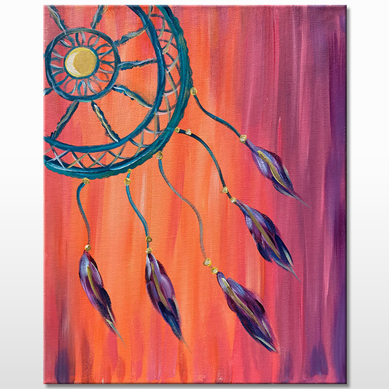 Dreamer Acrylic Painting Class