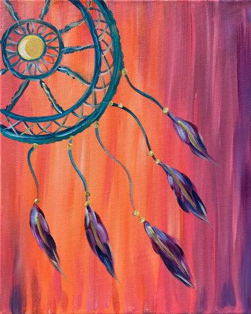 Dreamer Acrylic Painting