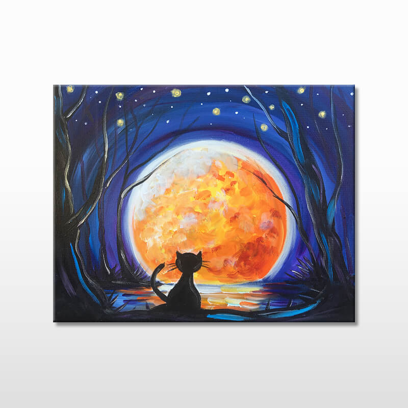 Moon Shadow All Ages Painting Class