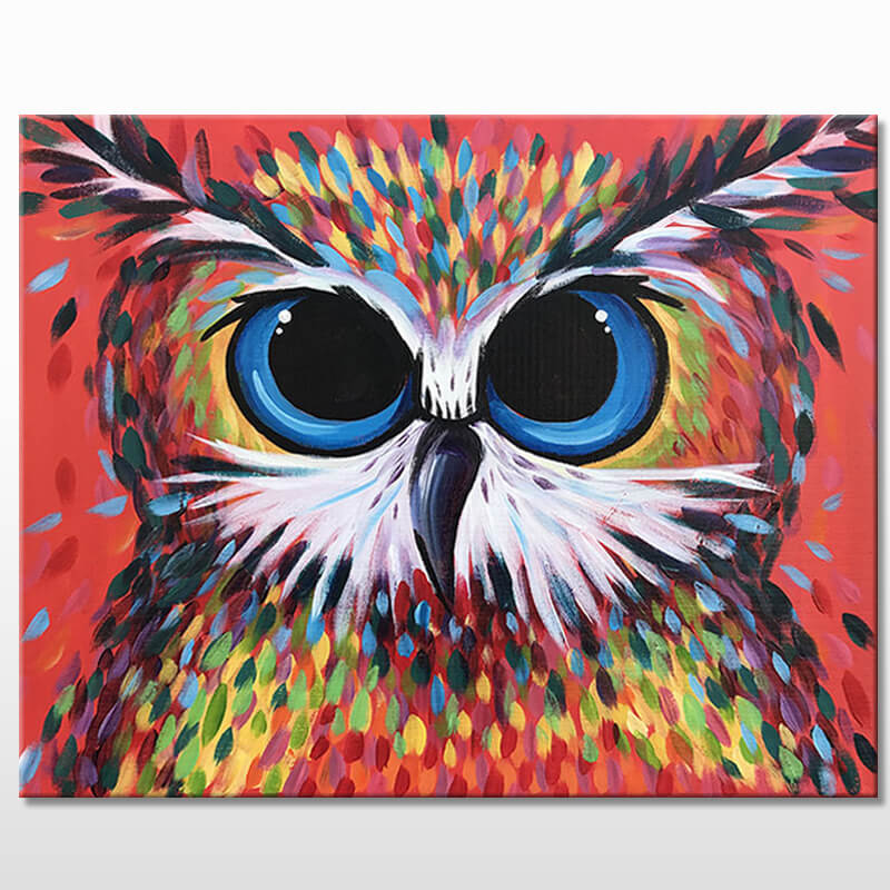 Owl Be There Acrylic Painting Class