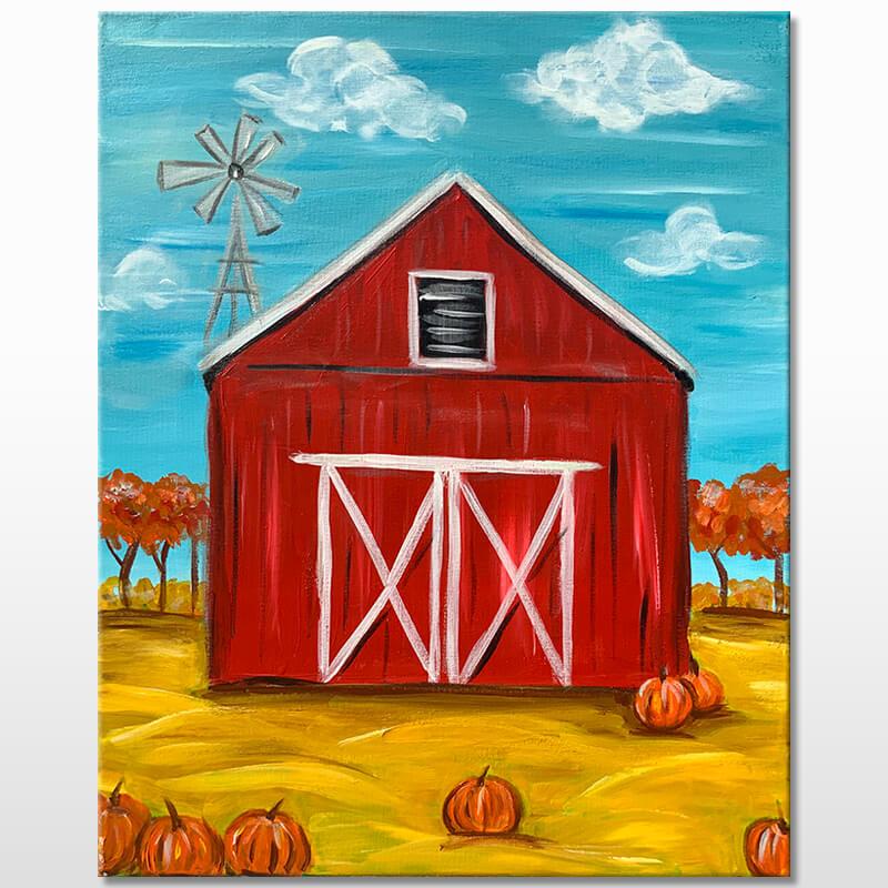 Pumpkin Harvest Painting Class