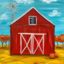 Pumpkin Harvest Painting Party