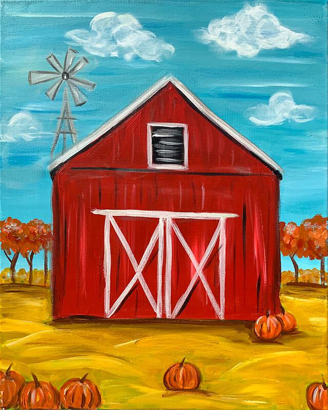 Pumpkin Harvest Painting Party