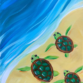 Turtle Beach Painting Party