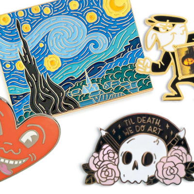 25 Must Have Artist Enamel Pins