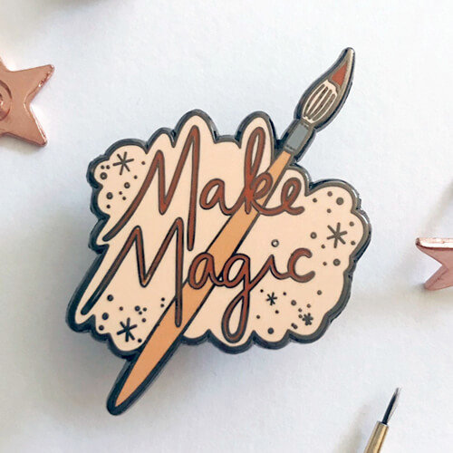 Make Magic Enamel Pin