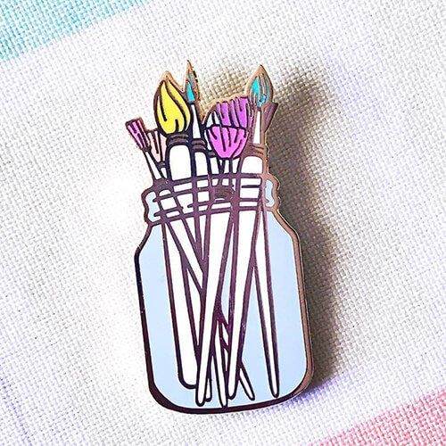 The Paint Brushes pin