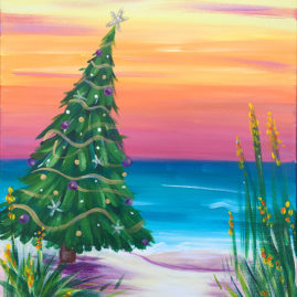 Christmas Vacation Painting Party
