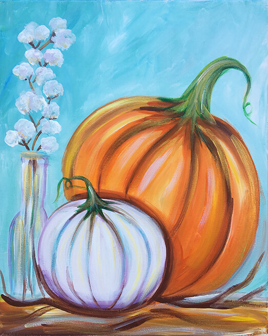 Pumpkin Spice Painting Party