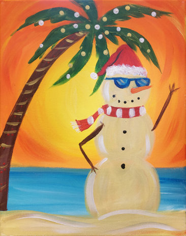 Sandy Clause Painting Party