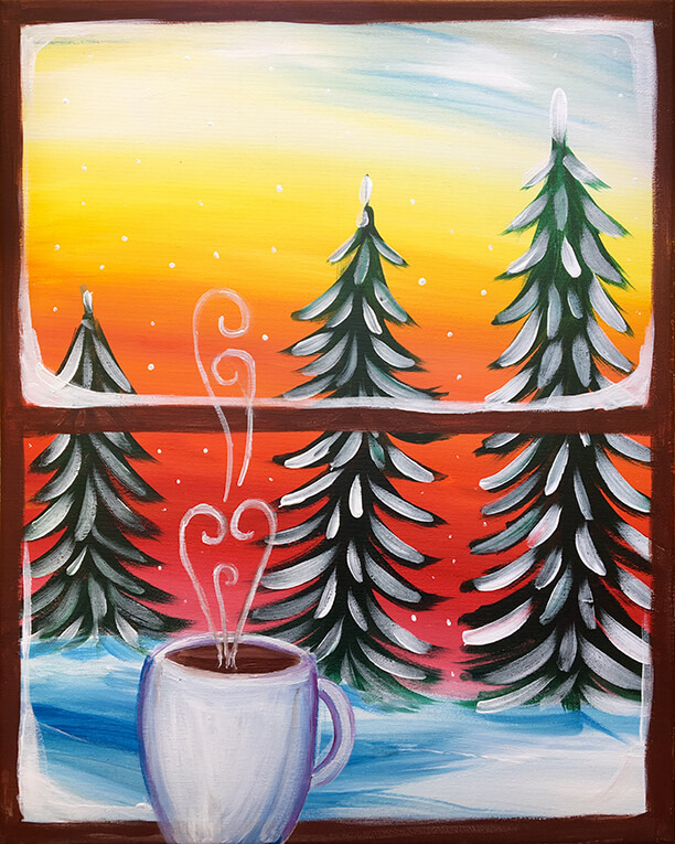 Winter Morning Painting Party
