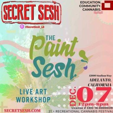 The Paint Sesh at The Secret Sesh in Adelanto, CA
