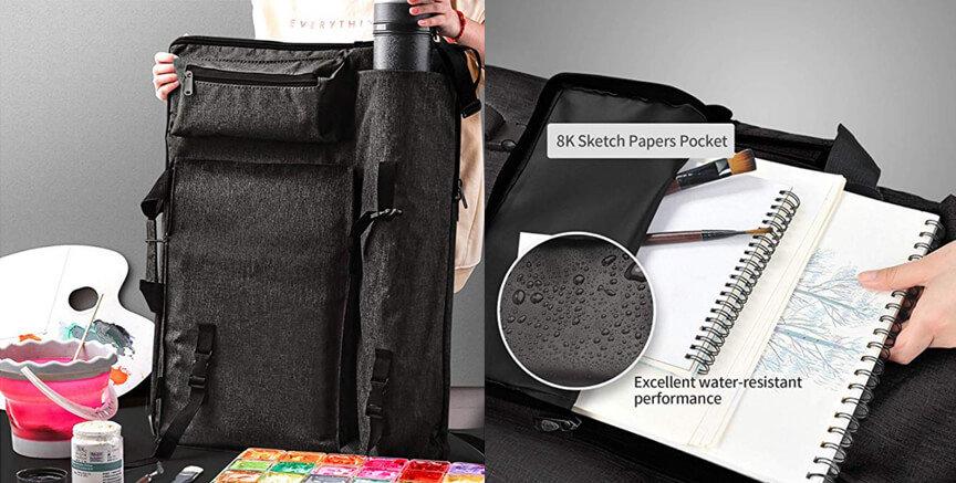 Artist Portfolio Backpack