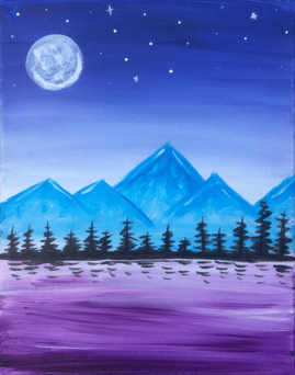 Dreamy Mountains