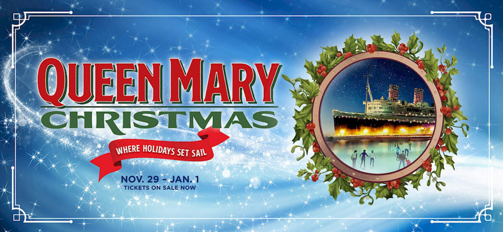 Queen Mary Christmas in Long Beach, CA