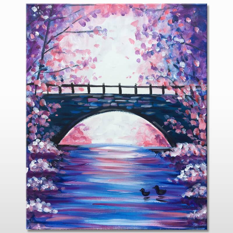 Under The Bridge Online Painting Class