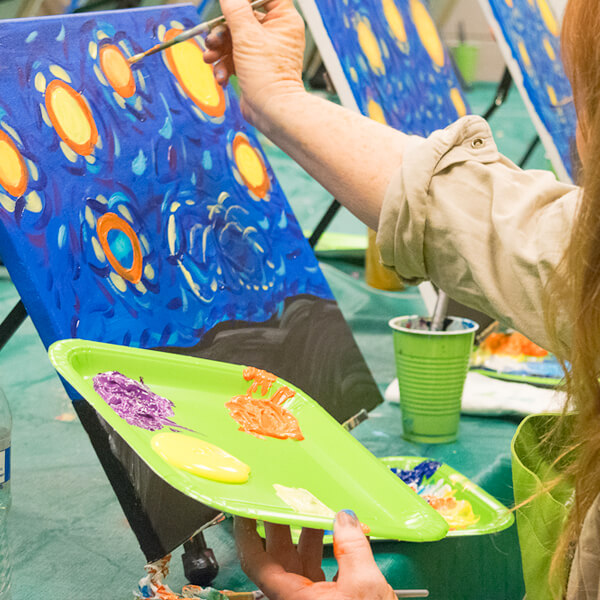 Office Painting Party - Treat your employees with a Paint Sesh