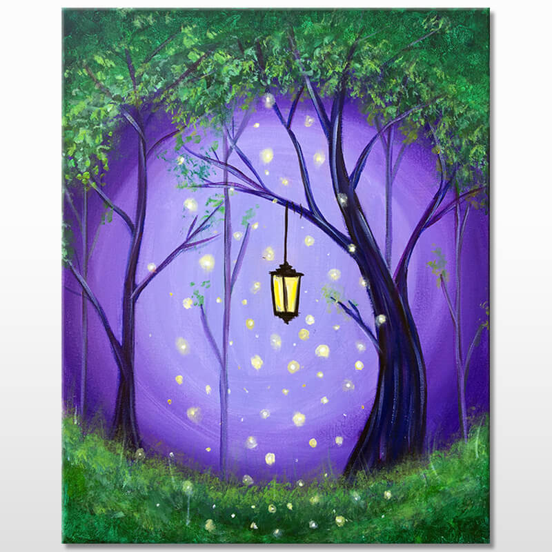 Enchanted Forest Painting Event