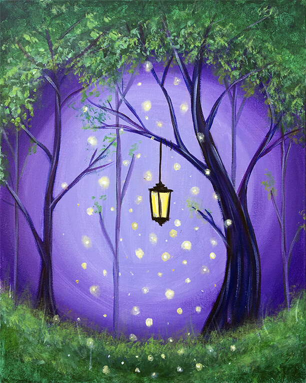 Enchanted Forrest Painting Party