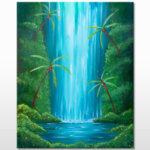 Jungle Falls Painting Event