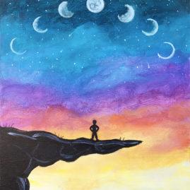 Lunar Peak Painting Party