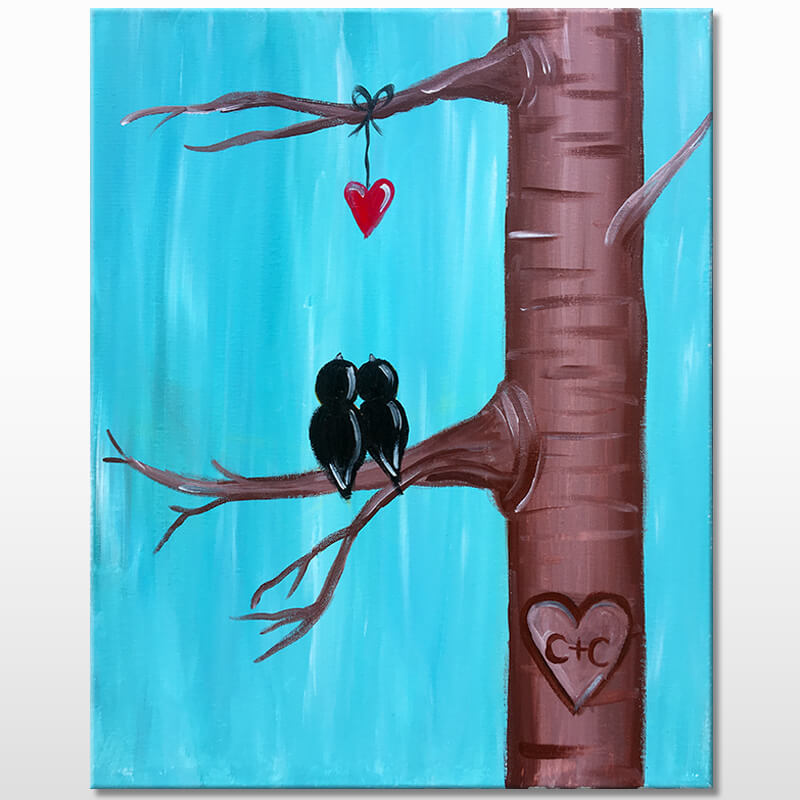 Tree Of Love Virtual Painting Class