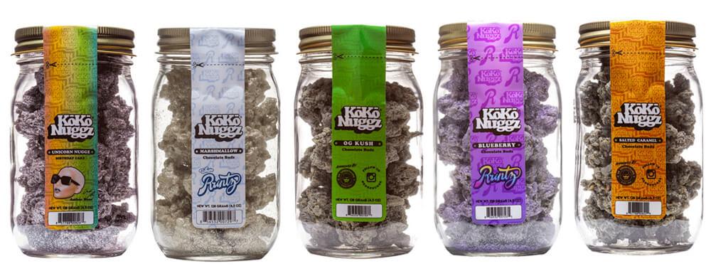 Koko Nuggz Valentines Weed Chocolate
